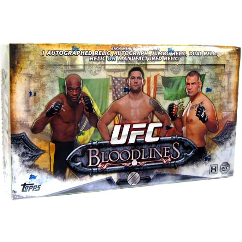 UFC 2014 Bloodlines Trading Card Box