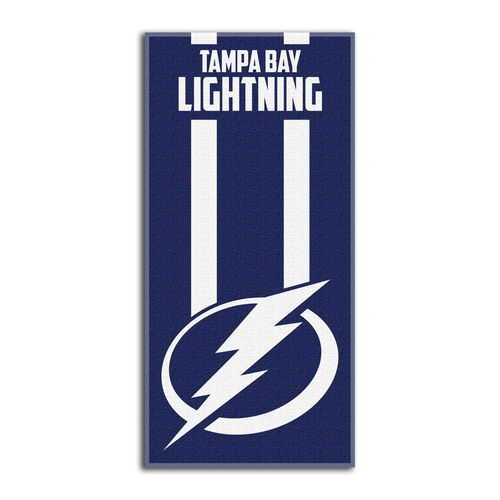 "The Northwest Company Tampa Bay Lightning 30"" x 60"" Zone Read Beach Towel - No Size"