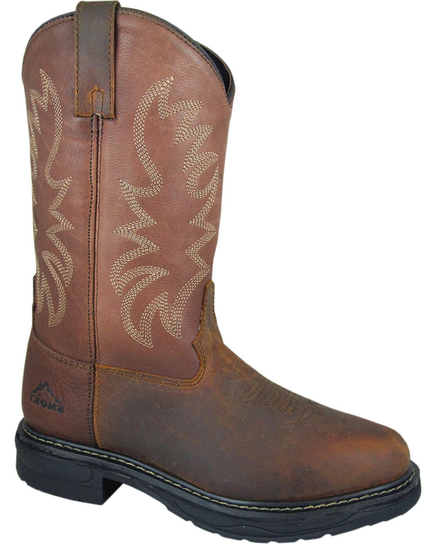 Smoky Mountain Men's Buffalo Eh Work Boot Round Toe - 4470