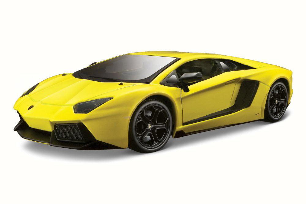 Lamborghini Aventador LP 700-4, Yellow Maisto 31362 1 24 Scale Diecast Model Toy Car by Maisto