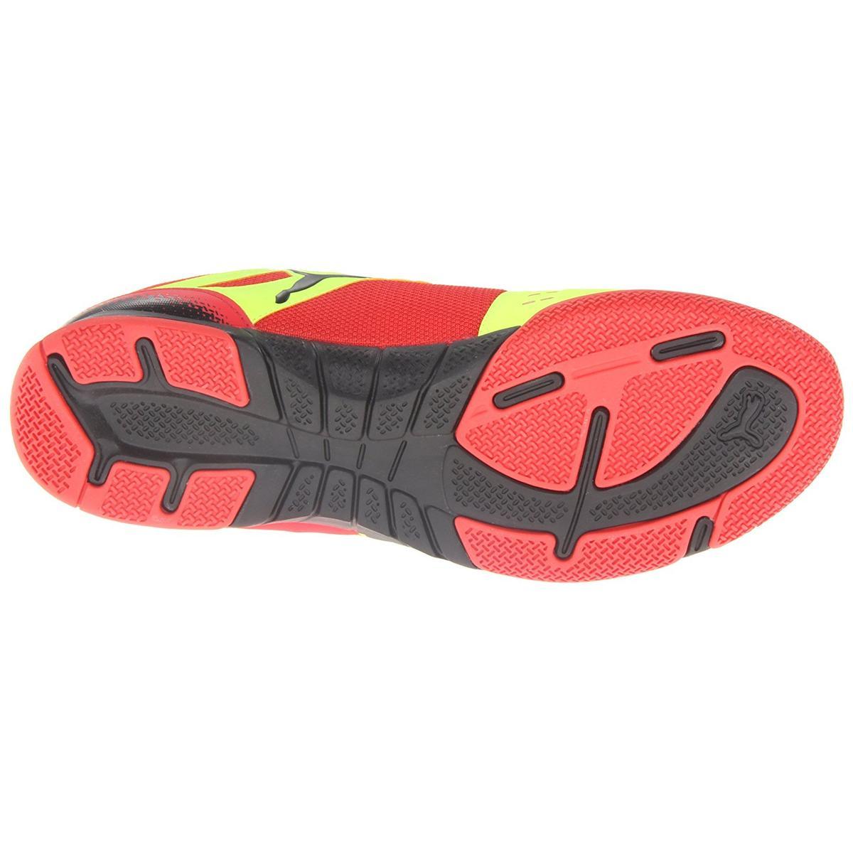 Puma Nevoa Lite Mens Red/Yellow Sneakers