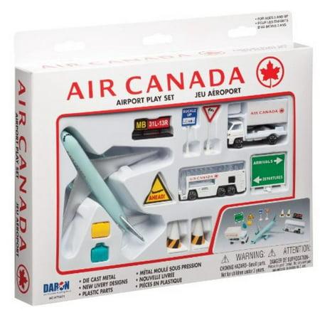 Daron Air Canada Airport Playset  12 Piece