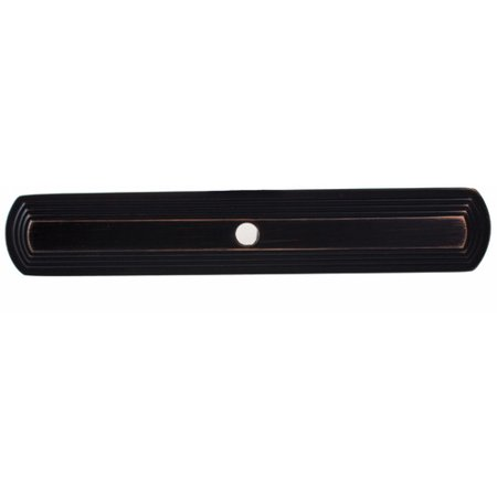 GlideRite Hardware Narrow Rounded Rectangle Cabinet Knob