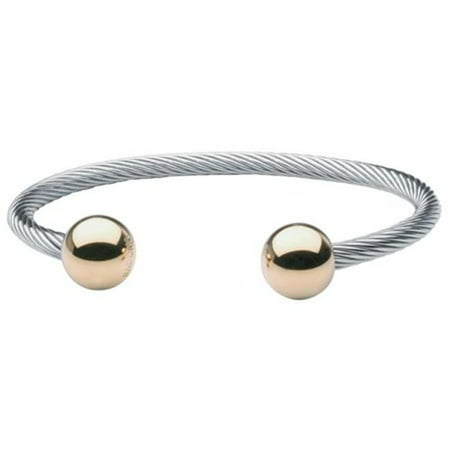 Two-Tone Wire Magnetic Bracelet-S/M