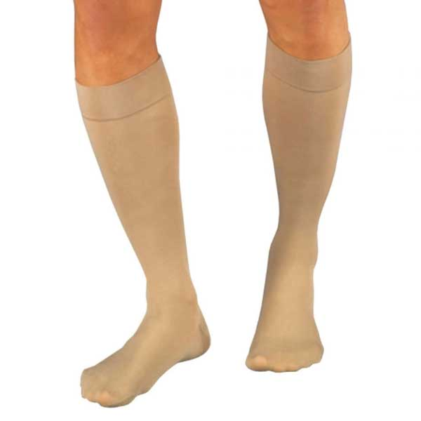 Jobst Relief 20-30 mmHg Knee High Large Full Calf Beige