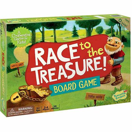 Halloween Relay Races Game (Race to the Treasure Cooperative Board)