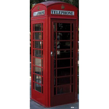 Advanced Graphics 698 English Phone Booth- 75