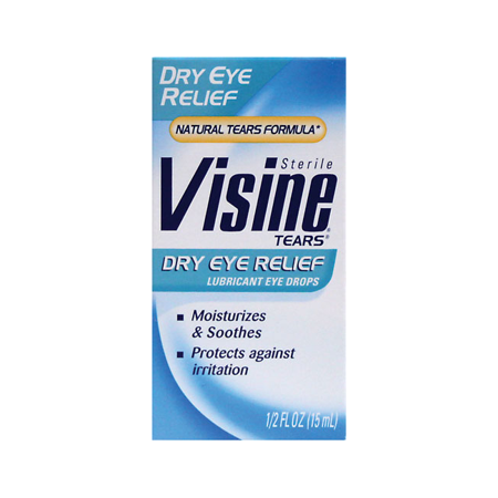 Visine Tears Dry Eye Relief 1/2 fl oz Liquid