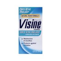 Visine Tears Dry Eye Relief 1/2 fl oz Liquid