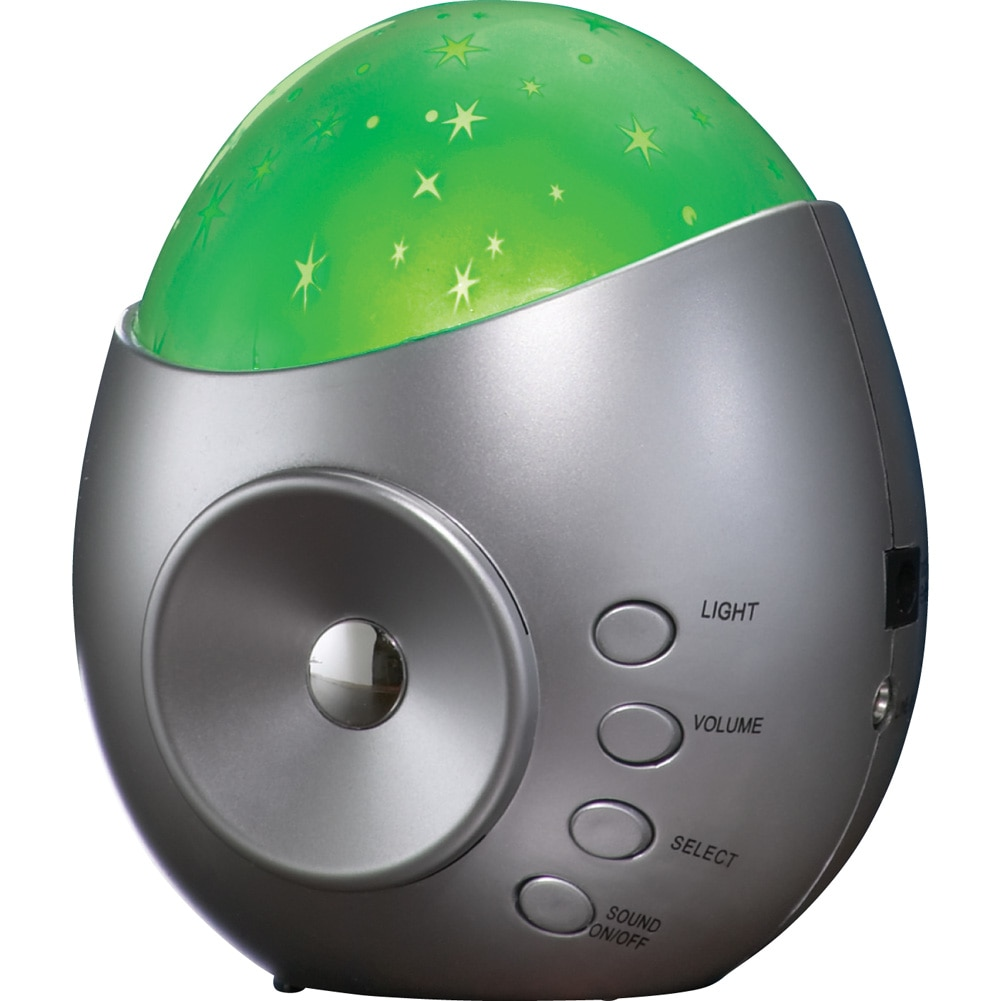 Tabletop Star Projector And Nature Sound Machine, Silver