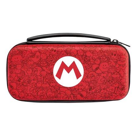 PDP Nintendo Switch Super Mario Bros Mario Remix Deluxe Travel Case, (Nintendo Switch Game Traveler Deluxe System Travel Case)