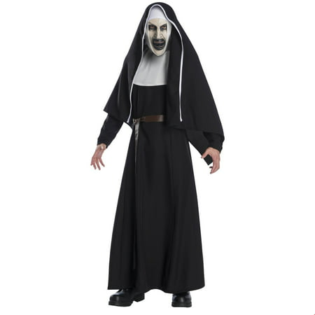 The Nun Movie Deluxe Adult Halloween Costume (Movie Studio Halloween Costumes)
