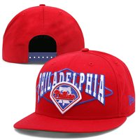 Philadelphia Phillies New Era Geo Block 9FIFTY Snapback Adjustable Hat -  Red - OSFA 62af8e8f33a8