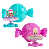 Prima Sugarinas the Sweetest Ballerinas - Surprise Scented Spinning Doll - 2-pack