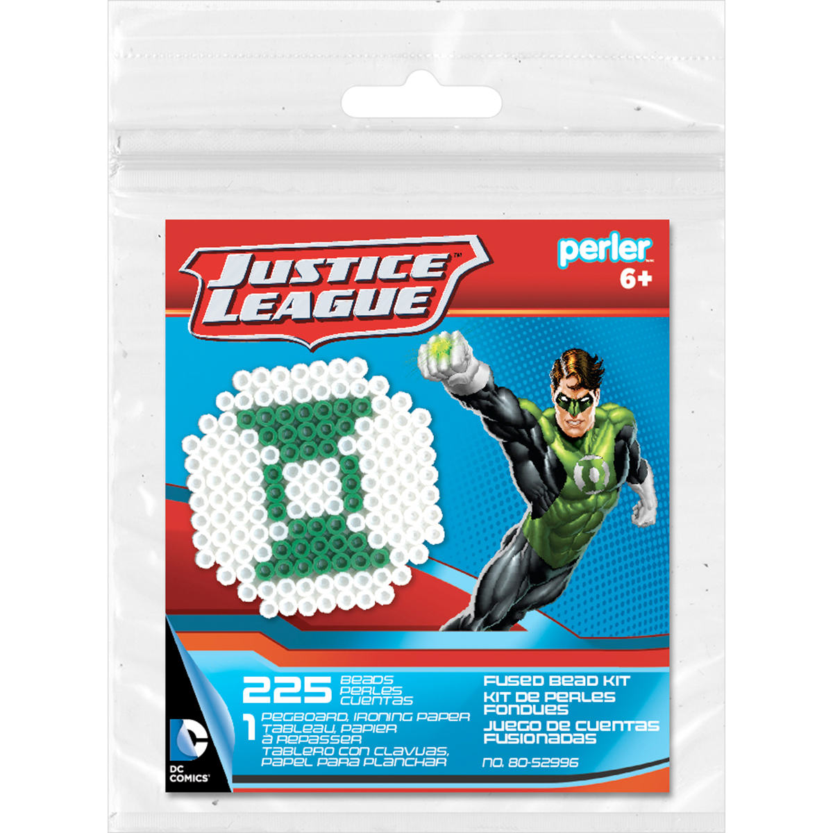 Perler Fused Bead Trial Kit-Green Lantern