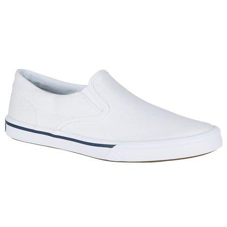 Sperry Men's Striper II Twin Gore Saltwashed Sneaker White Size 7.5