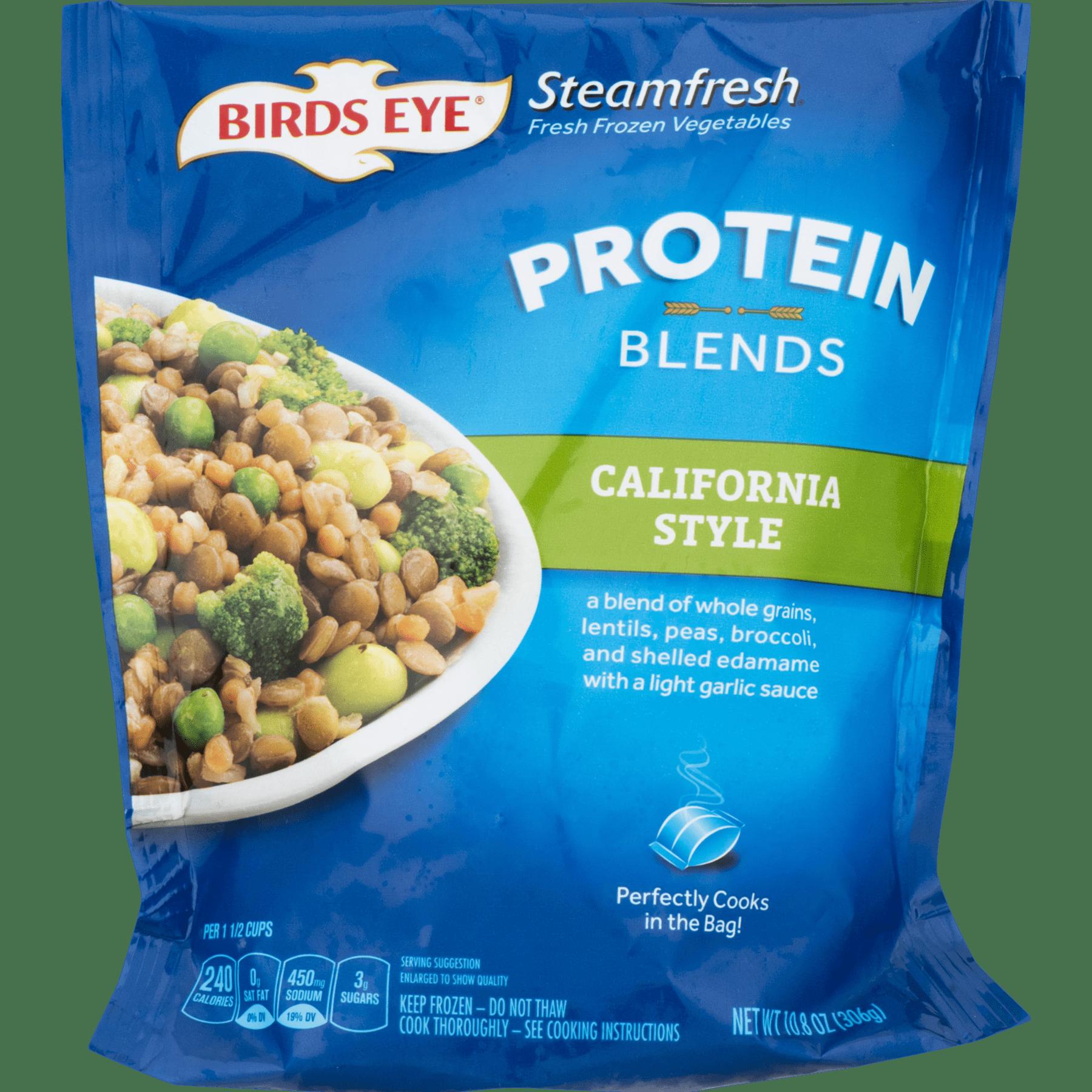 Birds Eye Steamfresh California Style Protein Blends, 10.8 oz ...