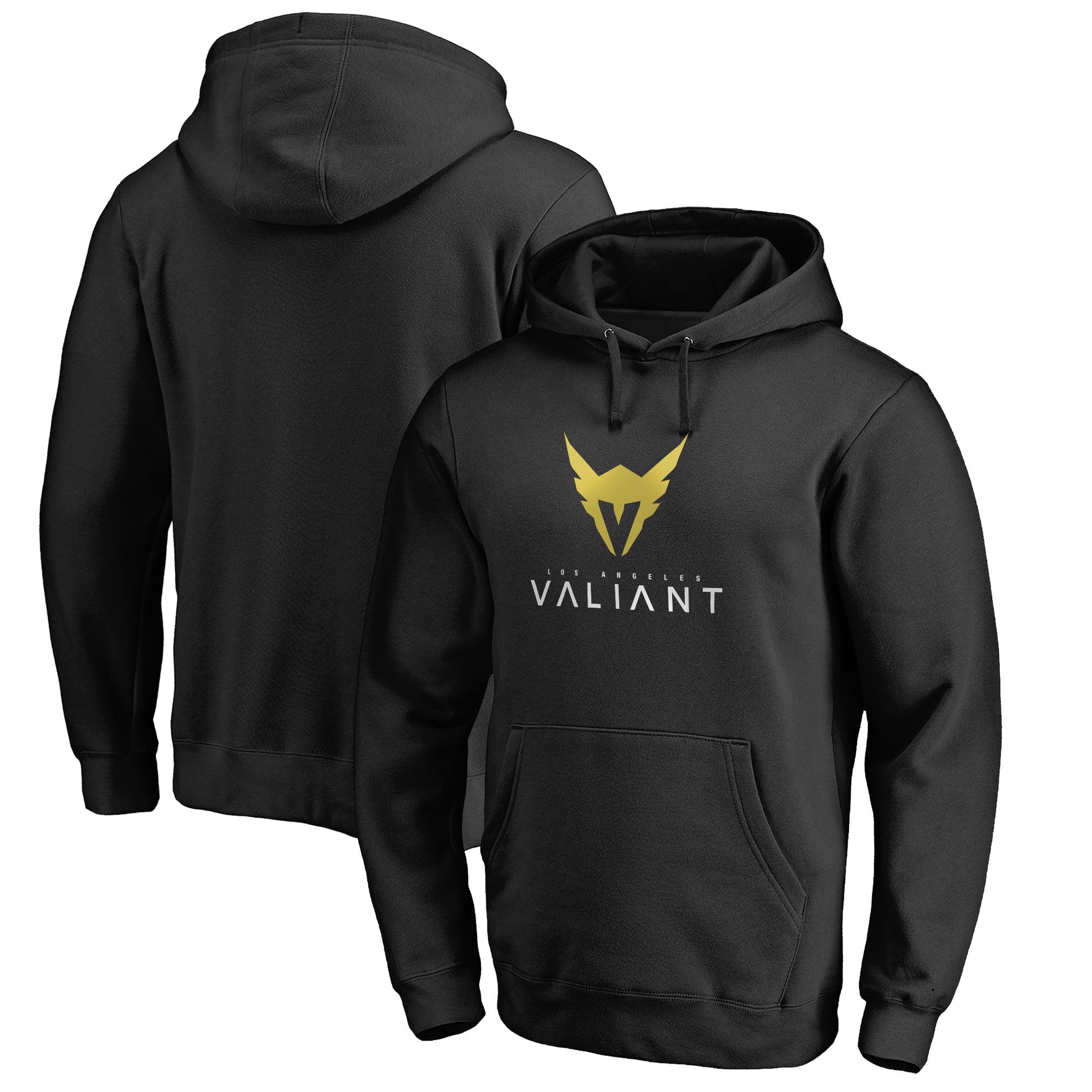 Los Angeles Valiant Fanatics Branded Team Identity Pullover Hoodie - Black