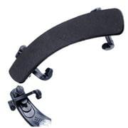 Adjustable Violin Shoulder Rest Plastic Padded Shoulder Support Replacement for 1/2 1/4 Fiddle Pad Stand Holder