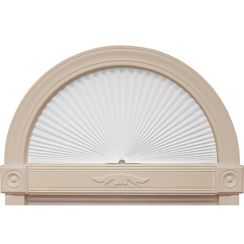 Redi Shade Fabric Arched Window Blind, 24-inches