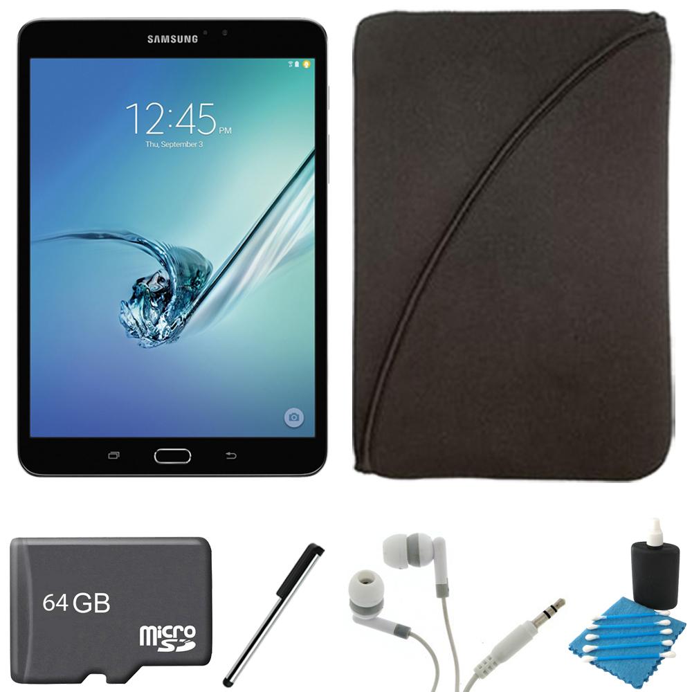 Samsung Galaxy Tab S2 8.0-inch Wi-Fi Tablet (Black/32GB) 64GB MicroSD Card