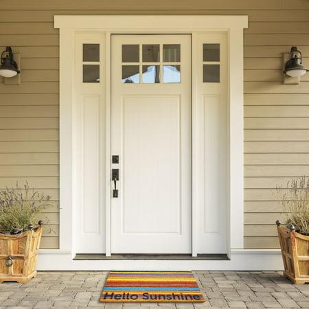 Coir Doormat Hello Sunshine