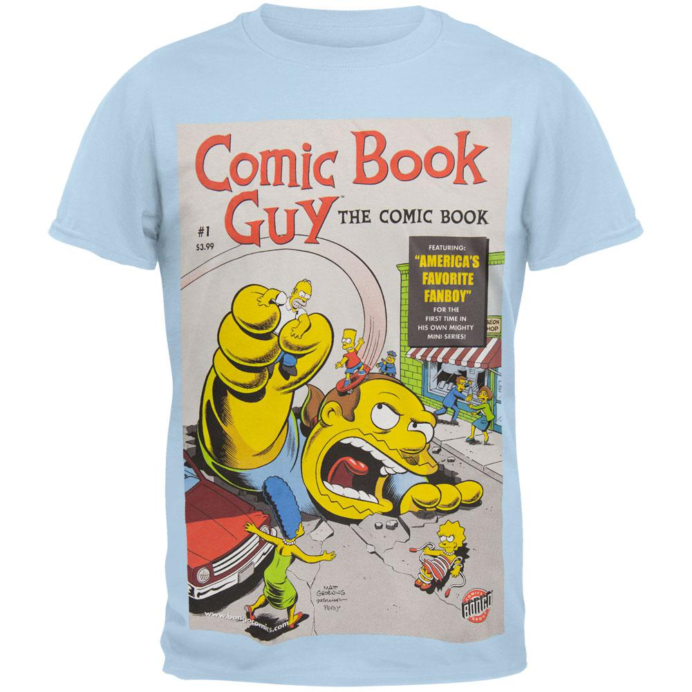 Simpsons - Comic Book Guy Cover Soft T-Shirt
