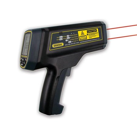 General Tools & Instruments IRT5000 100-1 Ultra-High Temperature Infrared -Ir Thermometer With Dual Laser Target Tracking System