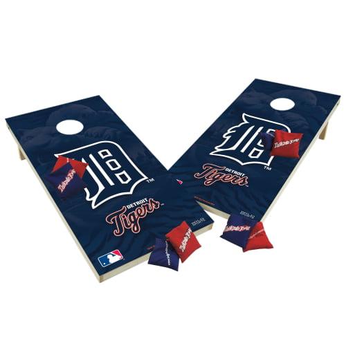 TTXL Shield Design 1MLB Detroit Tigers Bean Bag Toss Game