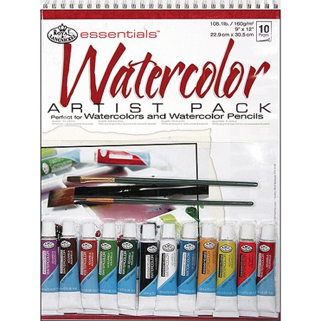Royal & Langnickel Watercolor Artist Pack, 15pc