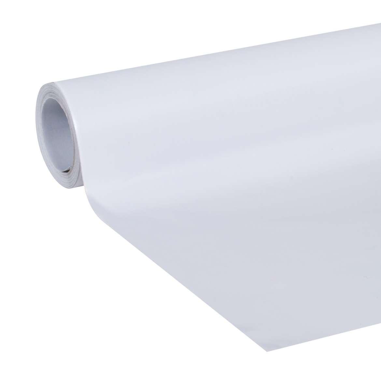 """Duck Brand, Peel & Stick Laminate, Adhesive Shelf Liner, 20"""" x 15', White"""