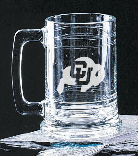 NCAA - Colorado Buffaloes 15 oz Deep Etched Colonial Beer Tankard