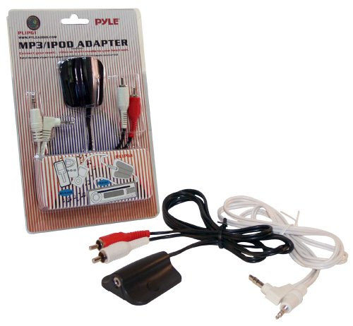 PYLE-CAR AUDIO/VIDEO PLIPG1 PYLE IPOD 3.5MM TO RCA ADAPTOR