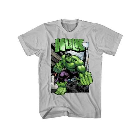 Marvel The Incredible Hulk Hulktastic Mens Grey T-Shirt   S - Hulk Shirt