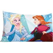 """Frozen Anna Elsa Kids Pillowcase Standard Size - 20"""" x 30"""" [1 Piece Pillowcase Only]"""