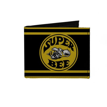 Dodge Automobile Company Super Bee Logo Bi Fold Wallet