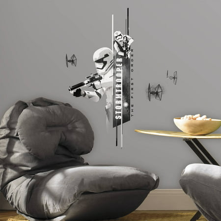 RoomMates Star Wars Classic Stormtroopers Peel and Stick Wall Decals (Star Wars Cartoon Wall Decals)