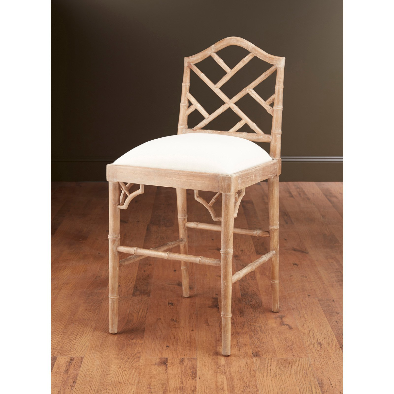 AA Importing 28 in. Bamboo Counter Stool