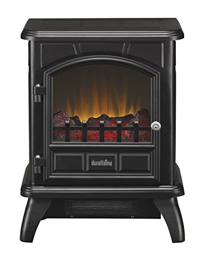 Duraflame DFS-500-0 Thomas Electric Stove with Heater, Black by