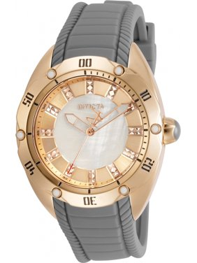 Invicta 30973 Womens Venom Quartz 3 Hand White Dial Watch