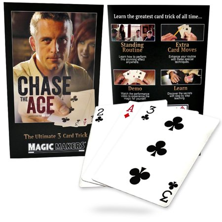 Magic Makers Chase the Ace - 3 Card Monte Trick