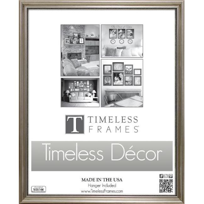 Timeless Frames 78032 Astor Silver Wall Frame, 11 x 14 in.