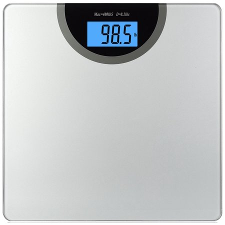 BalanceFrom Digital Body Weight Bathroom Scale with Step-On Technology and Backlight Display, 400 Pounds,