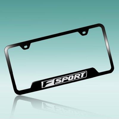 Lexus F Sport Black Steel License Plate Frame - Walmart.com