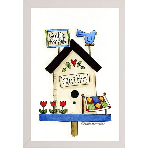 August Grove 'Quilts for Sale' Print
