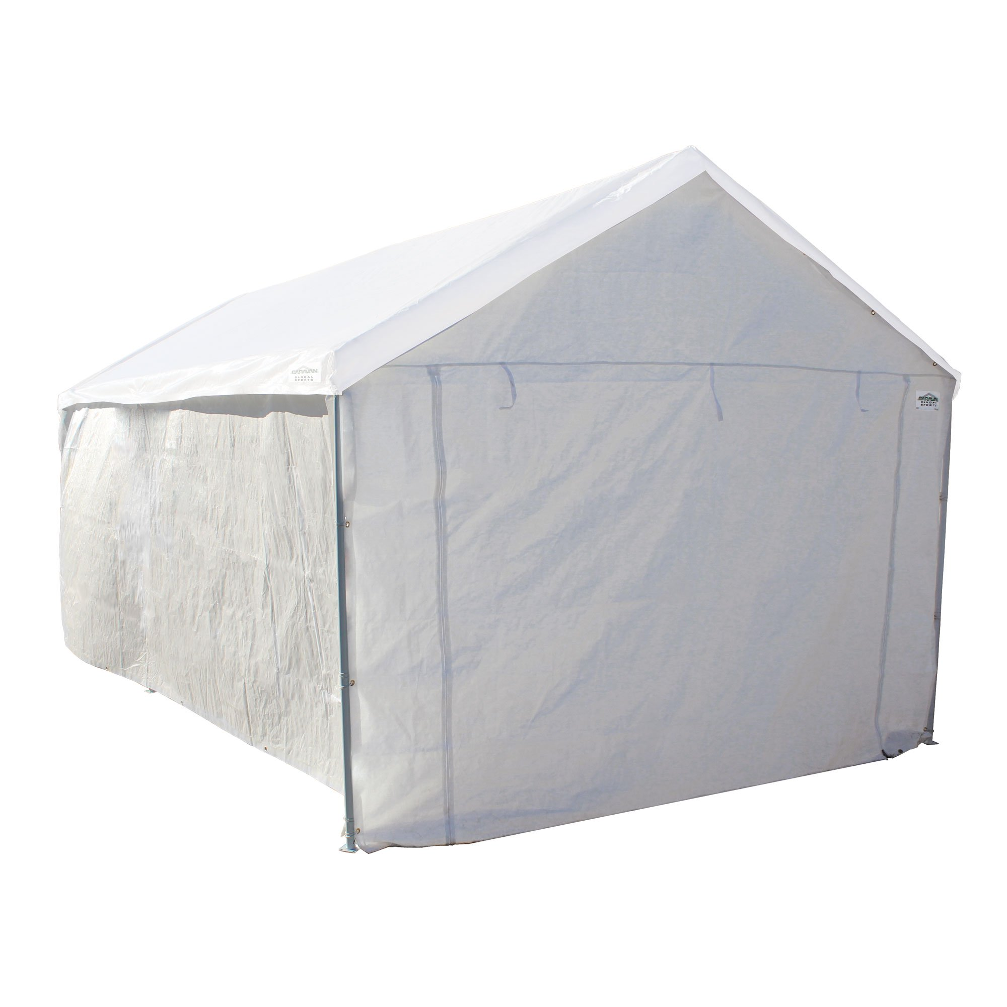 Caravan Canopy Sports 10'x20' Domain Carport Garage Sidewall/Enclosure Kit (Frame and Top Not Included)