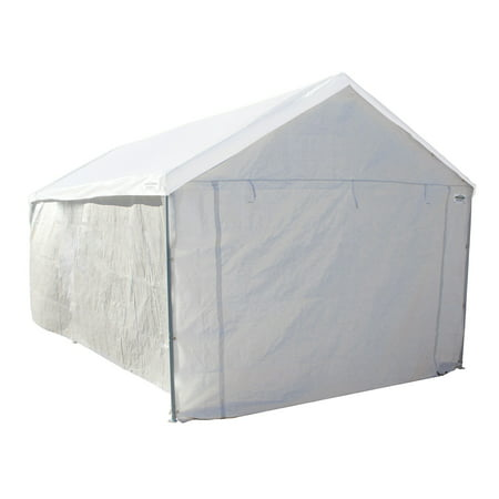 Caravan Canopy Sports 10'x20' Domain Carport Garage Sidewall/Enclosure Kit (Frame and Top Not -