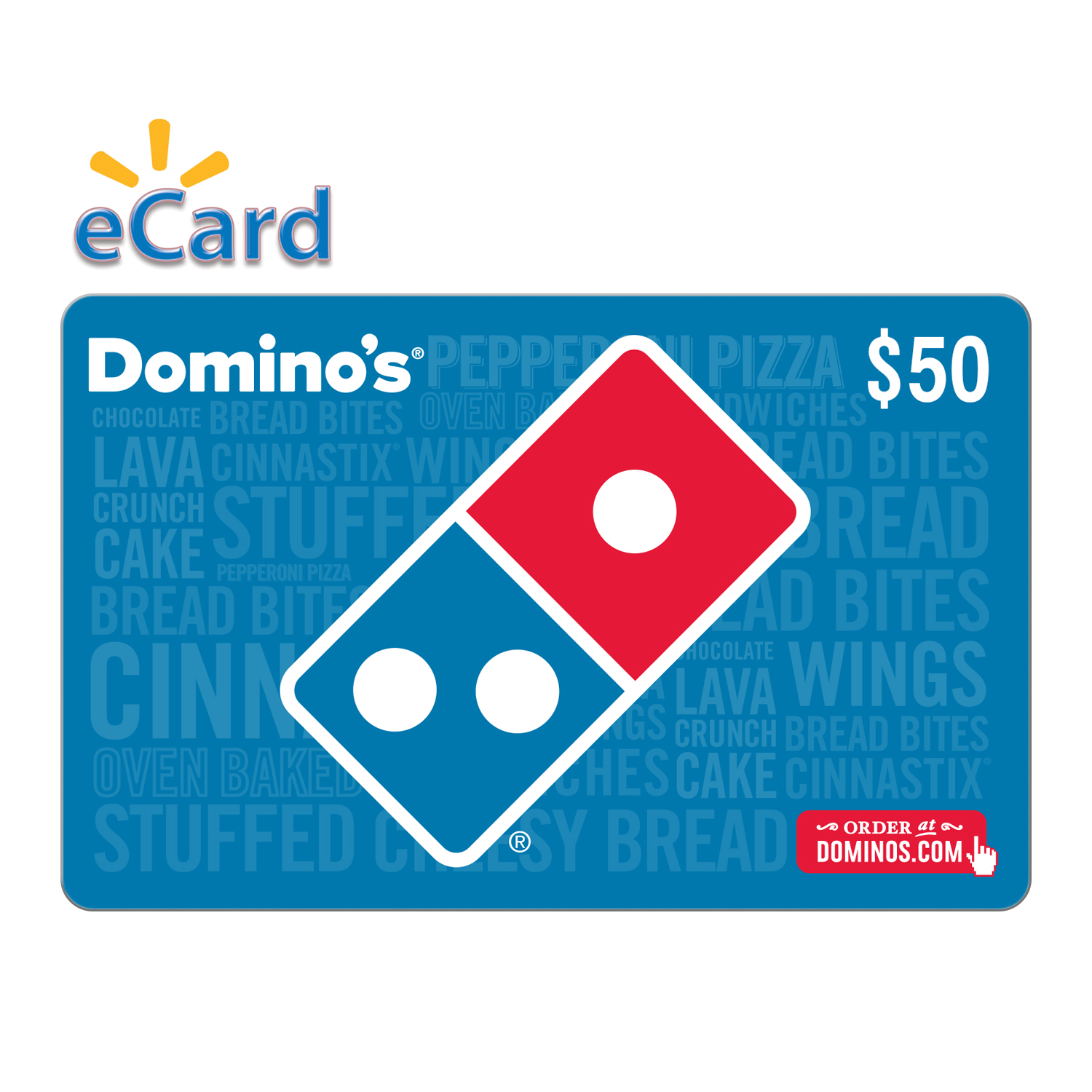 Domino's $50 Gift Card (Email Delivery)