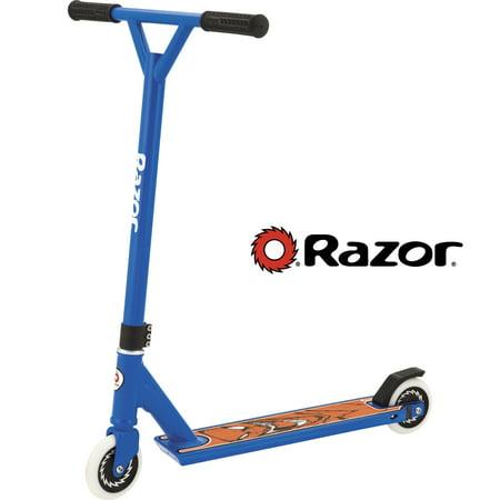 Razor El Dorado Pro Stunt Scooter with 110 MM Solid Core Wheels (Orange Pro Scooter Clamps)