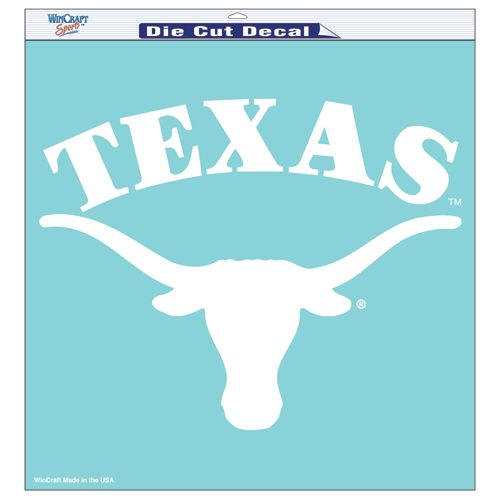 "Texas Longhorns 18""x18"" Die Cut Decal"